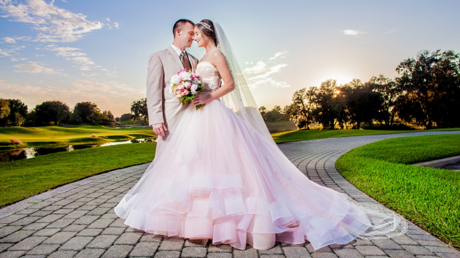 Golden Ocala Wedding Photography