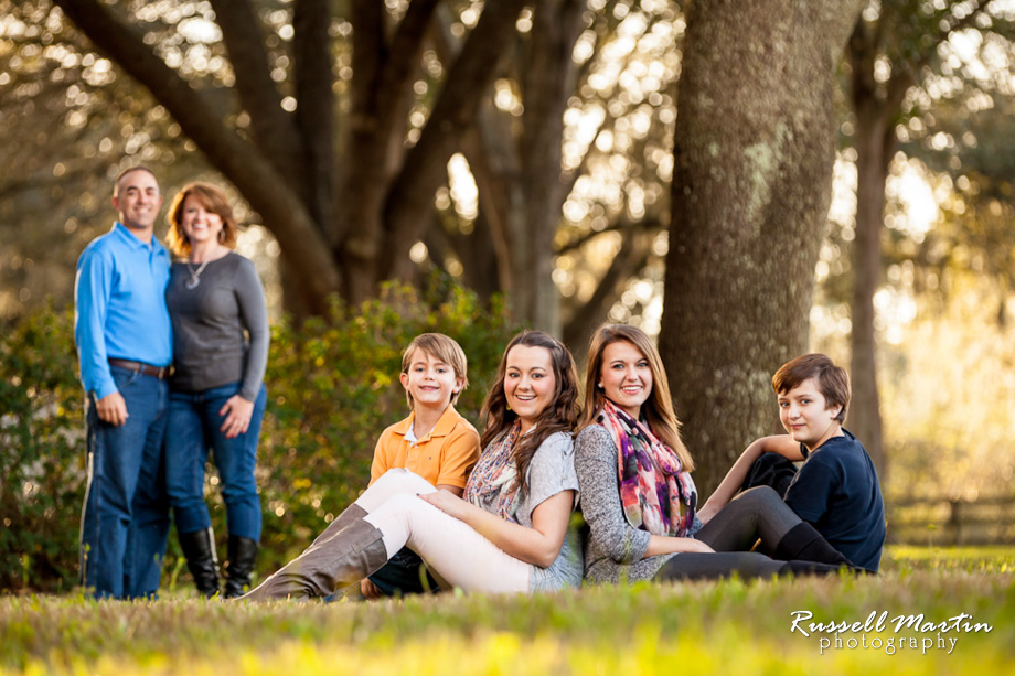Ocala family portrait natural light portraits