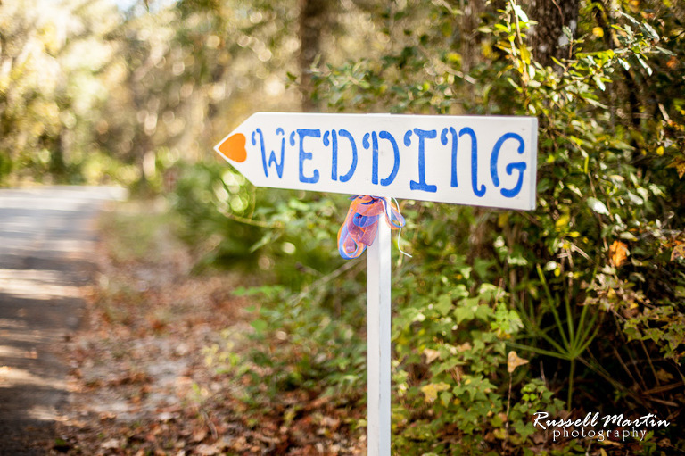 Florida Gators, Wedding, Gainesville wedding Photographer, Photography ,DIY wedding sign