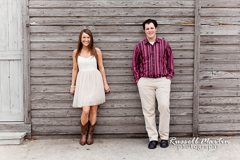 St Augustine Engagement Portrait