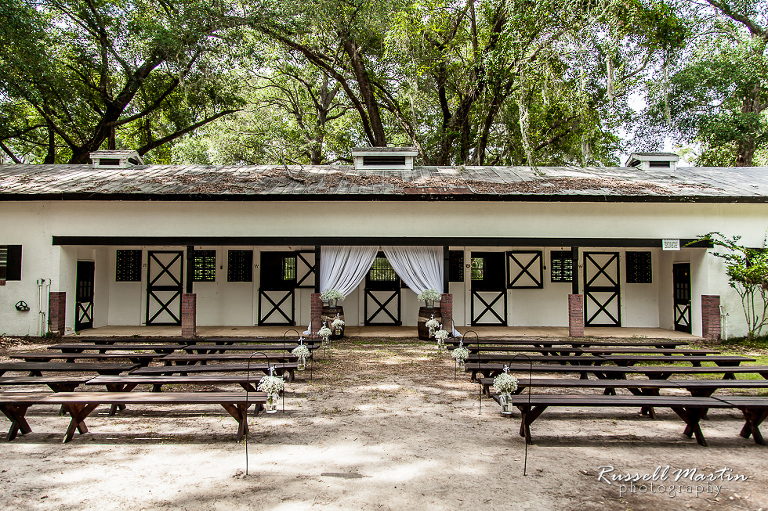 Ocala Barn Wedding Ceremony