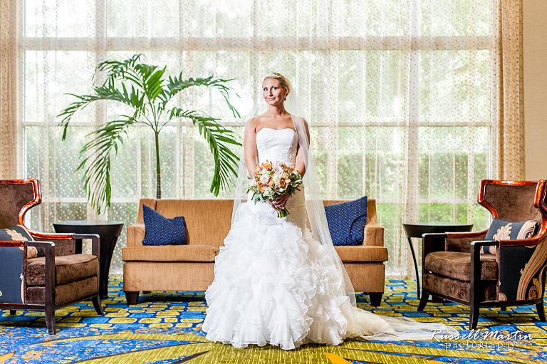UF Hilton Wedding Gainesville FL Photographer