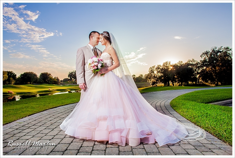 sunset, Golden Ocala Wedding Photography