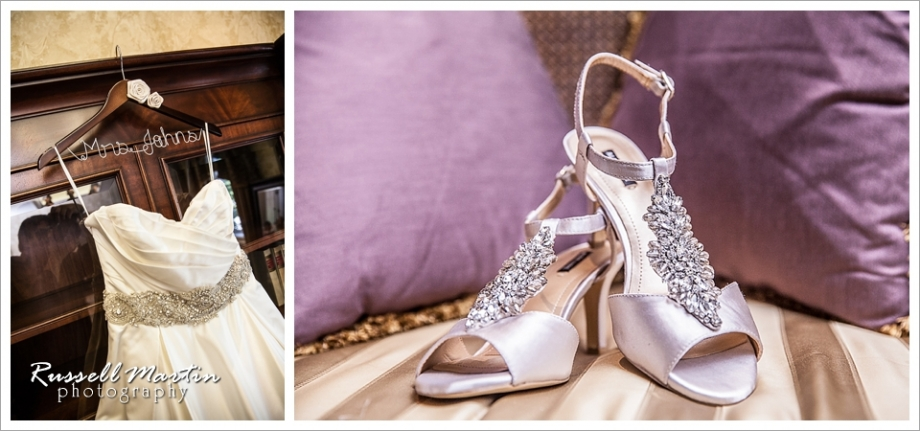 Golden Ocala Wedding, Dress, Shoes
