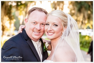 Bride and Groom Portrait, Golden Ocala, Wedding Photography