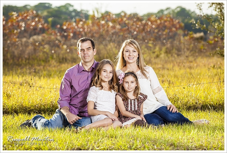Ocala Family Portrait