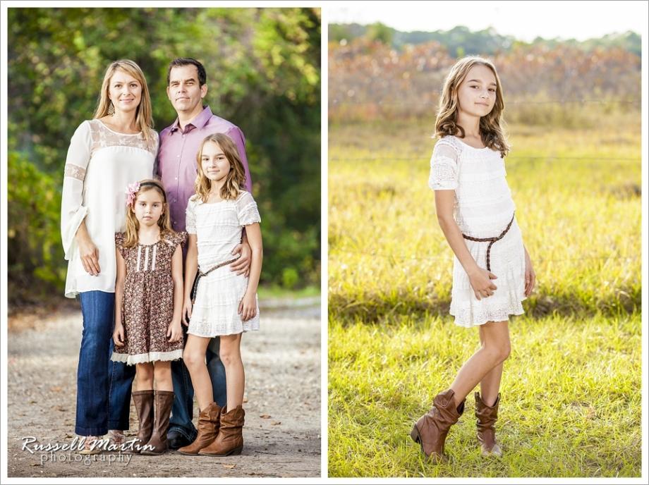 Ocala Family Portrait, Farm