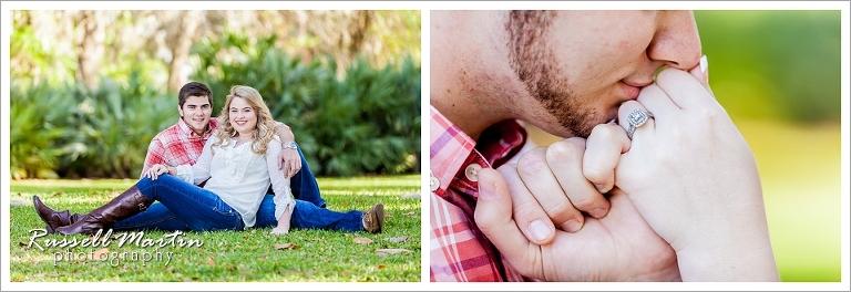 Shalom Park, Engagement Portrait, Ocala, Photographer