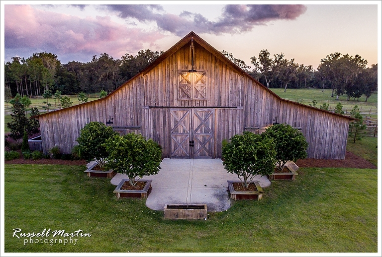 Aerial Drone Photography, Barn, Aerial, Drone, Ocala, sunset