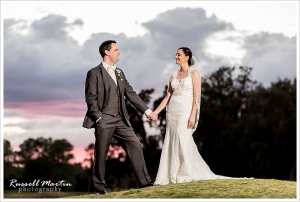 Golden Ocala, Bridal Portrait, sunset
